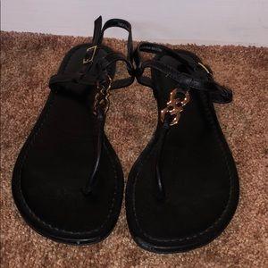 Black Cole Haan Sandals